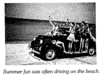 A 1930's Photo of kids on Bruce Beach, north of Bayfield.